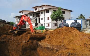 80 EW Kläranlage KLARO Mehrfamilienhaus Frz. Guyana