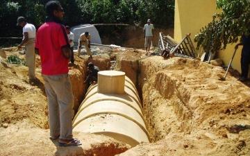 25 EW Kleinkläranlage KLARO auf Sri Lanka I (2)